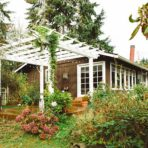 Rethink Design Architecture - home addition, arbor, side view